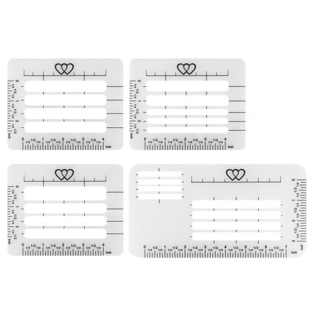 Stencil Guide (EEEkit Envelope Addressing Guide Stencil Template Fits Wide Range of Envelopes, Sewing, Christmas Cards )