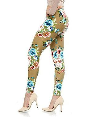 f5eb4650d60fee Black Womens Leggings - Walmart.com