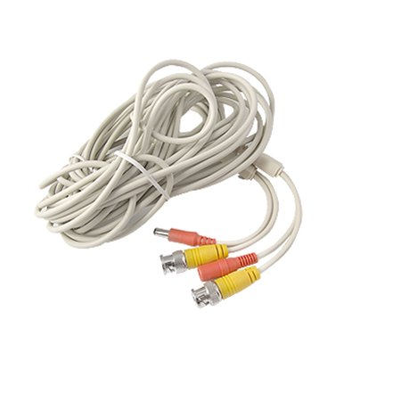 33FT CCTV Camera DVR BNC DC Power Video Extension Cable Wire 10M