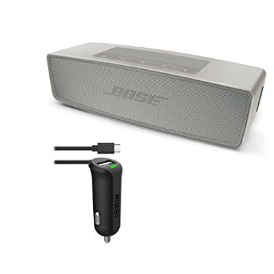 Bose soundlink mini bluetooth speaker ii - pearl ; car ch...
