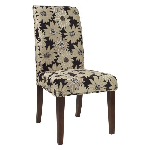 Powell Classic Seating Floral Short Dining Room Chair Cover