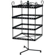 Darice Black Metal Jewelry Display Shelf, 6 x 13 Inches