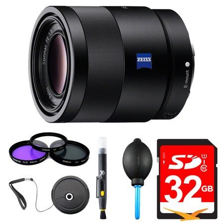 Sony Sonnar T* FE 55mm F1.8 ZA Camera E-Mount Lens (Sony 55mm F1 8 Sonnar T Fe Za)