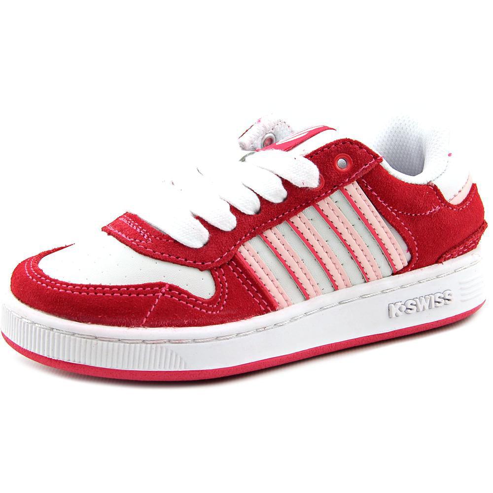 k swiss jackson youth us 10 5 white tennis shoe walmart
