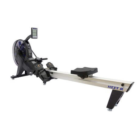 HIIT Air Rowing Machine w/ Fan for Cardio Stamina & CrossFit  (Commercial Gym Quality) by (Best Commercial Rowing Machine)