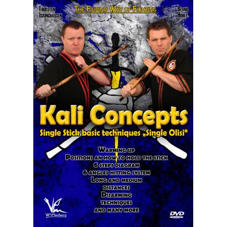Kali Concepts: Single Olisi - Single Stick Basic Techniques (DVD)