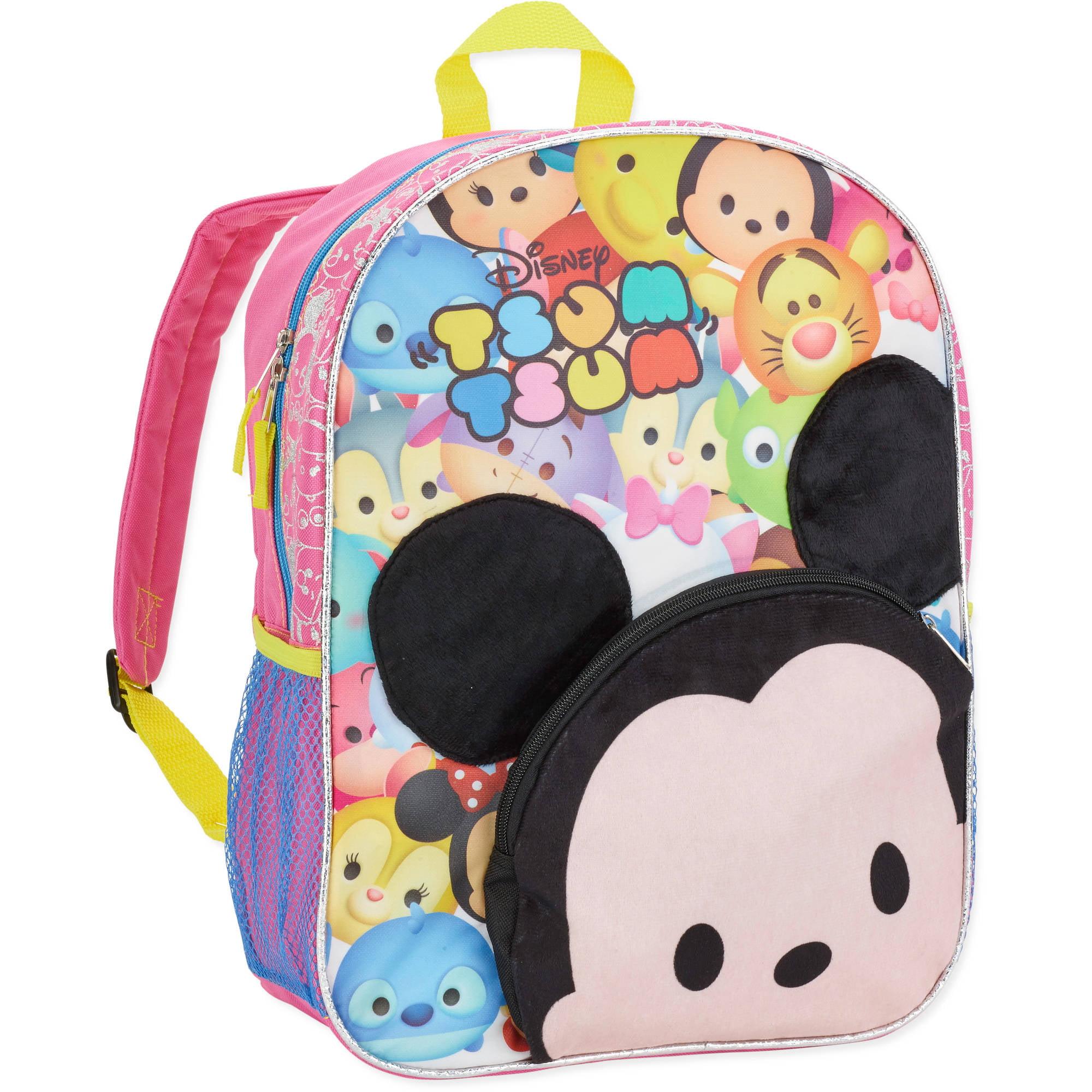 93fa3d08745a Disney Tsum Tsum Super Cute Backpack - Walmart.com
