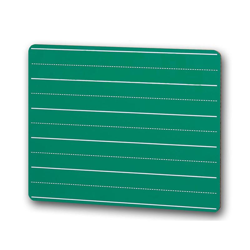 CHALK BOARD 9 X 12 LINED GREEN