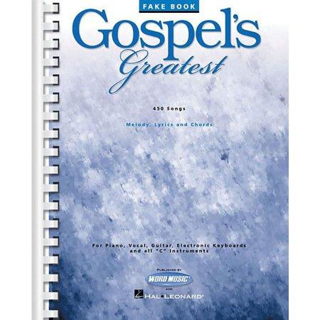 Fake Books: Gospel's Greatest (Best Fake Book)