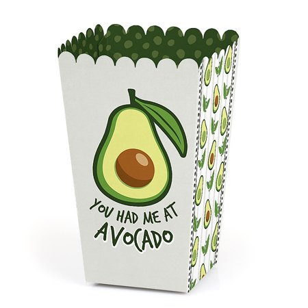 Hello Avocado - Fiesta Party Favor Popcorn Treat Boxes - Set of - Fiesta Games