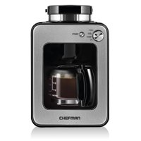 Chefman Grind and Brew 4-Cup Coffee Maker with Grinder