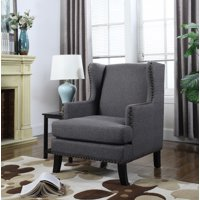US Pride Furniture Contemporary Studded Accent Chair, C-121,C-122,C-123