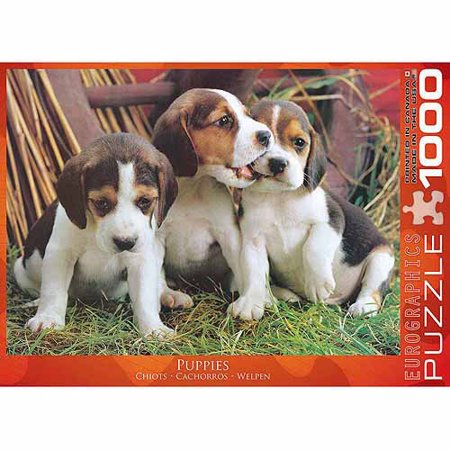 EuroGraphics Puppies 1000-Piece Puzzle