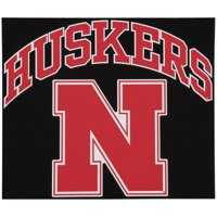 "Nebraska Cornhuskers 12"" x 12"" Arched Logo Decal - No Size"