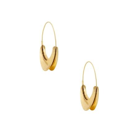 1996 Hoops - Safari Beach Organic Hoop Earrings