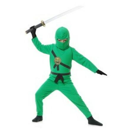 Green Ninja Avenger Costume (Ninja Avenger Series Green Child)