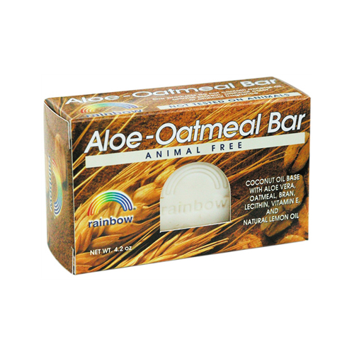 Rainbow Research Aloe-Oatmeal Bar Soap - 4.2 Oz