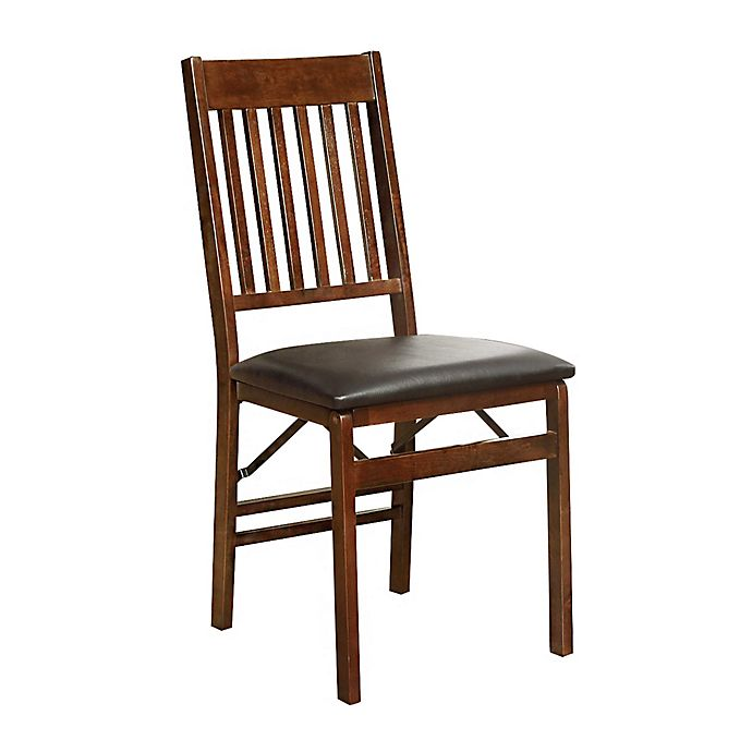 Mission Back Wood Folding Chair Walmart Com Walmart Com