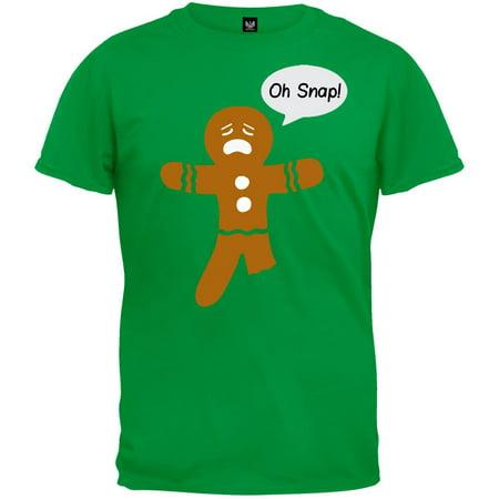 Oh Snap! Gingerbread Man T-Shirt ()