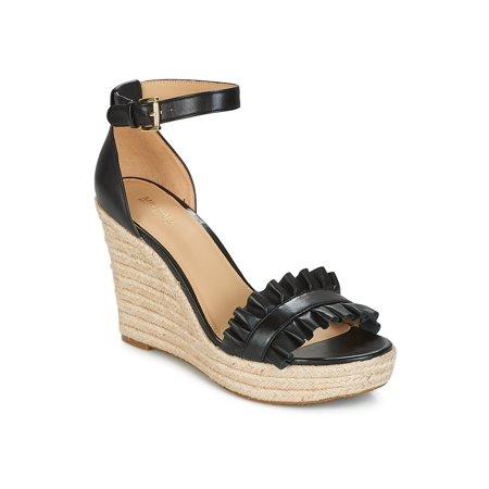 Michael Kors Womens Bella Wedge Open Toe Casual Ankle Strap Sandals - Michael Kors Open Toe Wedges