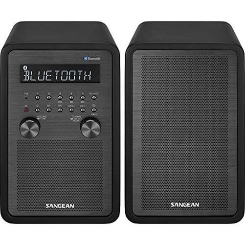 Sangean WR-50P AM FM Bluetooth Tabletop Stereo System by Sangean