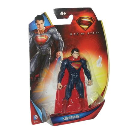 DC Superman Man of Steel Classic Suit (2013) Mattel Action Figure](Man Of Steel Suit)