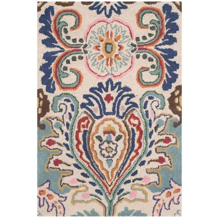 Safavieh Bella Meriel Contemporary Wool Area Rug or Runner