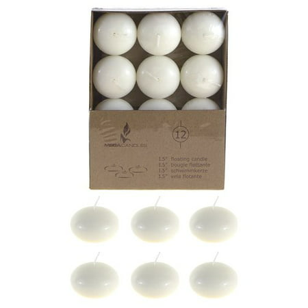 Synergy Retail Group Mega Disc Floating Candle (Set of 12) ()