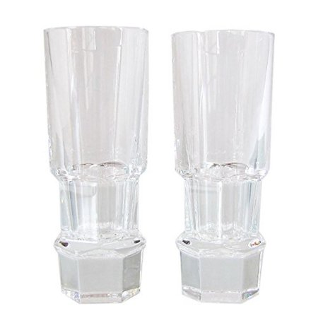 Baccarat Abysse Vodka Shot Glass Set of 2