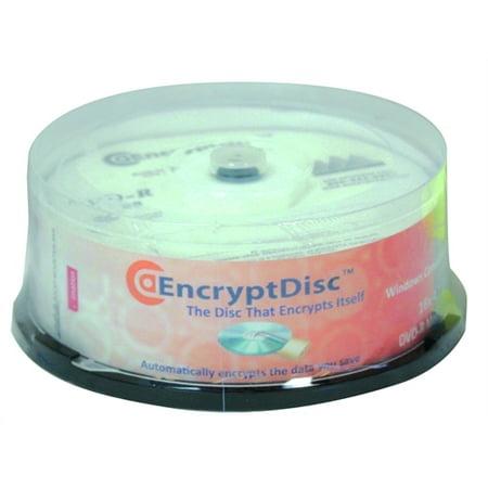 Rocky Mountain Ram Encryptdisc Dvd Recordable Media   Dvd R   4 70 Gb   25 Pack Eddvdr 25