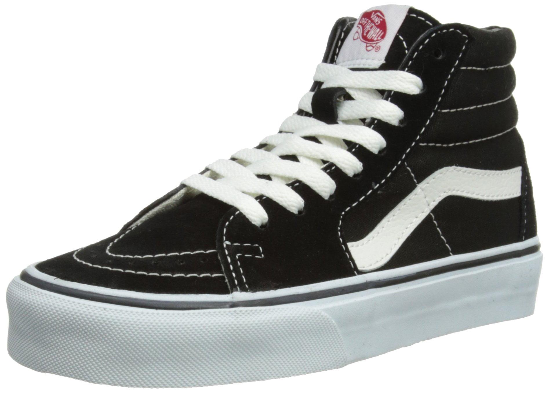 Vans - Sk8-Hi (Black/Black/White) Men's