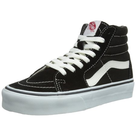 Half Cab Skate Shoes - Sk8-Hi (Black/Black/White) Men's Skate Shoes-9