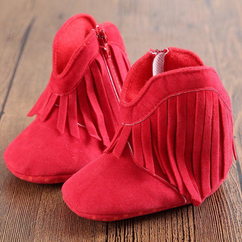 Newborn Toddler Tassel Boots Baby