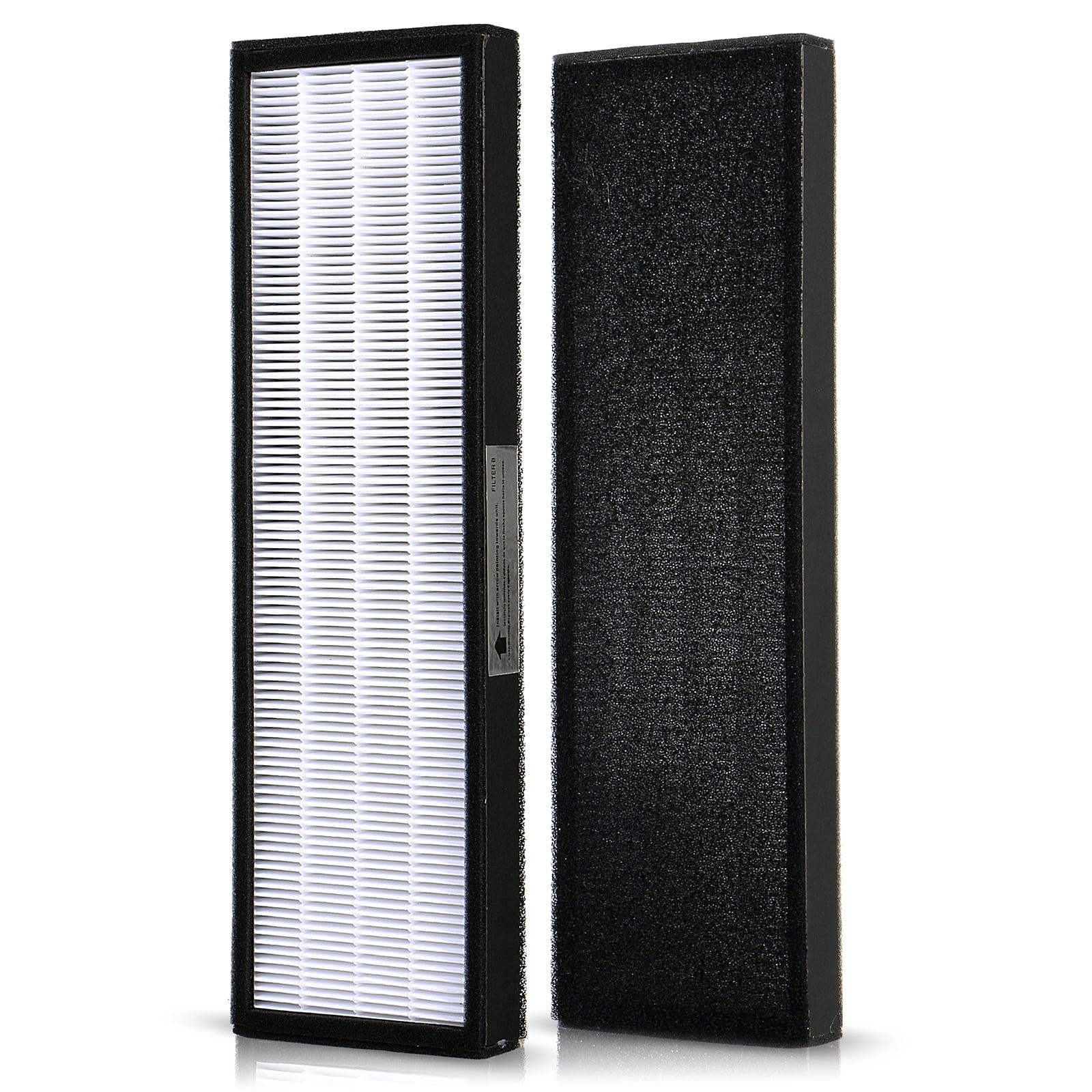 TSV True HEPA Filter B for GermGuardian FLT4825 FLT4800 Air Purifiers AC4300 AC4800 AC4900 AC4900CA AC4825 AC4825e AC4850PT, PureGuardian AP2200CA, Black & Decker BXFLTY BXAP148