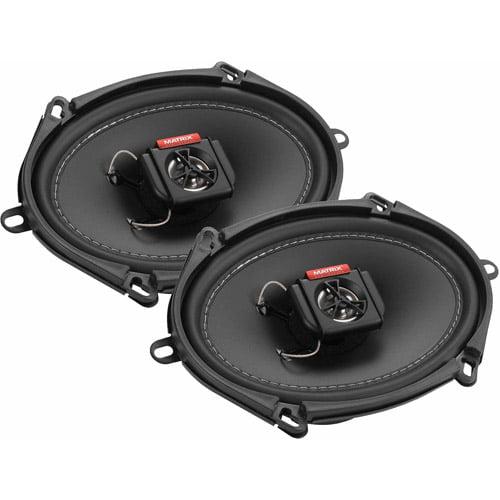 """Matrix Mobilesound 5"""" x 7"""" / 6"""" x 8"""" 2-Way Speakers, 300W"""