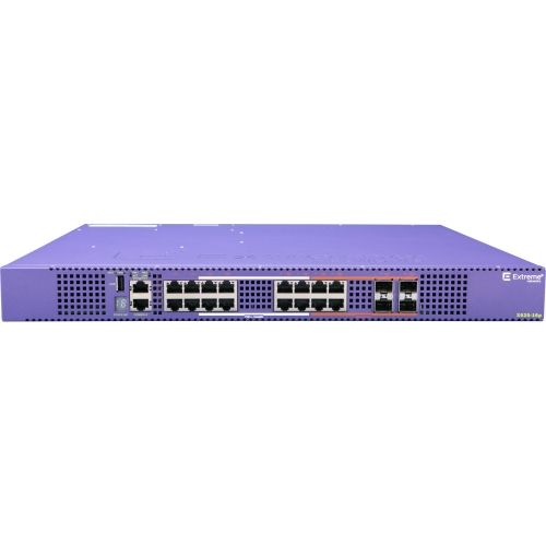 Extreme Networks X620-16p Ethernet Switch 12 x 10 Gigabit Ethernet Network, 4 x 10 Gigabit Ethernet Network, 4... by Extreme Networks