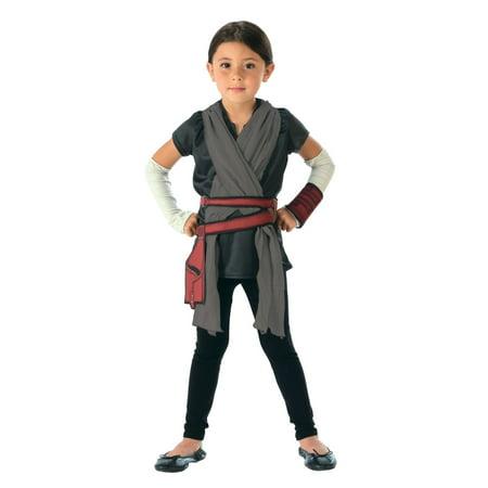 Star Wars Episode VIII - The Last Jedi Rey Costume Set](Rey Mysterio Kids Costume)