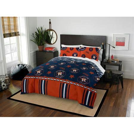 Houston Astros Queen Bed In Bag Set