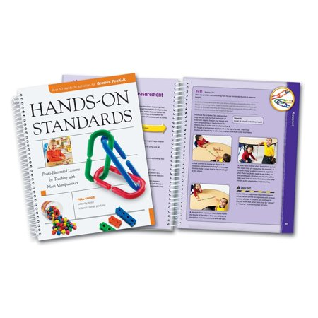Hands-On Standards Handbook, Grades PreK to K, Provides 68 lesson plans, aligned to NCTM standards and organized by NCTM strand, that encourage students to build, model, create and represent key for $<!---->