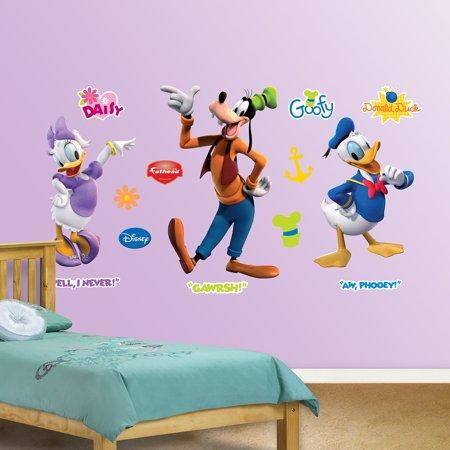 Donald, Daisy & Goofy Fathead