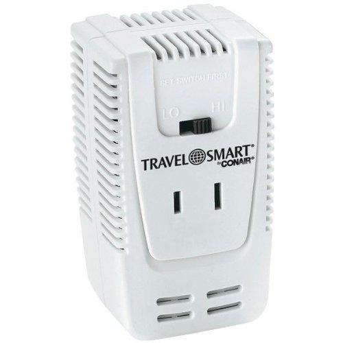 Franzus Travel Smart Dual Watt Travel Converter (220V to110V)