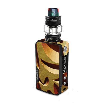 Skin for VooPoo DRAG 2 - Mosaic Gold | Protective, Durable, and Unique Vinyl Decal wrap cover | Easy To Apply, Remove, and Change Styles