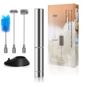 Best  - Coolmade Handheld Milk Frother with 2 Spring Whisk Review