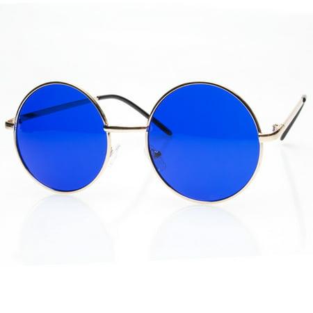 John Lennon  Vintage Retro Classic Circle Color Round Sunglasses Men Women. s ()