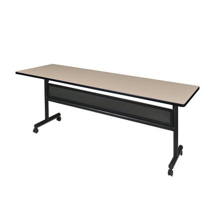 Pleasing Regency Kobe 84 Flip Top Mobile Training Table With Modesty Multiple Colors Interior Design Ideas Clesiryabchikinfo