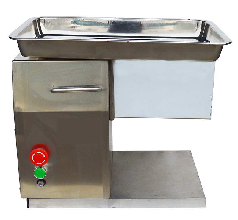 Techtongda110V 550W Stainless Steel Commercial Meat Slicer Cutting Machine 3mm Blade 250Kg/Hour(Item# 160501)