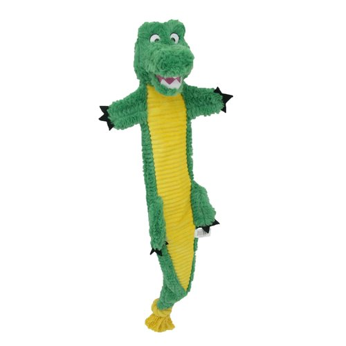 Alligator Dog Toy with Crinkle Body by DAN DEE INTERNATIONAL LTD