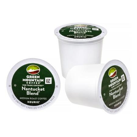 Green Mountain Coffee Medium Roast Single Serve for Keurig, Nantucket Blend, 24 Ct