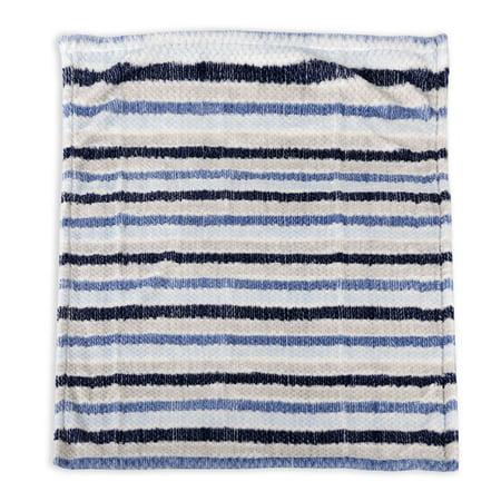 George Baby Textured Blanket- - Baby Bear Wool