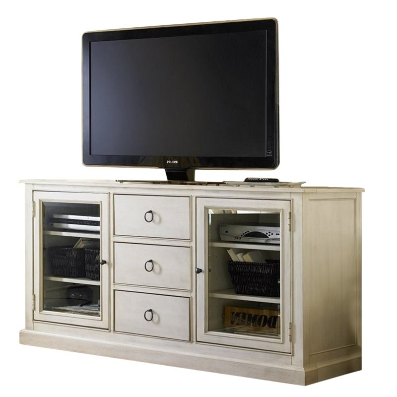 Beaumont Lane 65 Quot Tv Stand In Cotton Walmart Com